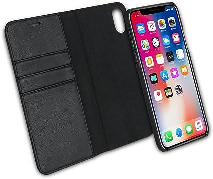 CASEZA Custodia Flip iPhone XS/Case iPhone X Rimovibile a Portafoglio Zurich 2