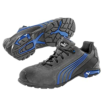Puma Safety - Zapatos unisex, color gris/azul, talla 39