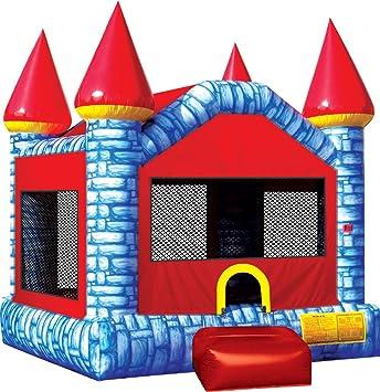 Amazon.com: Ninja Jump Camelot Castillo hinchable azul ...