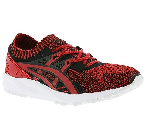 Carbon/Nero 40 EU ASICS Uomo Gel Kayano Knit Lo Sneaker UK 6 Scarpe eed