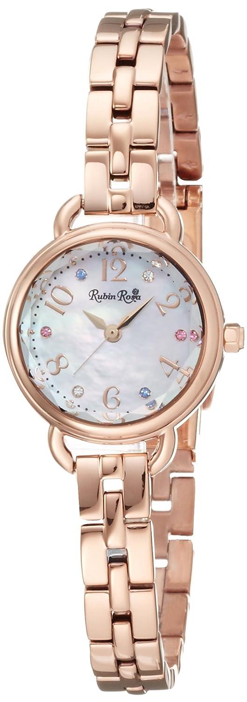 [ルビンローザ]Rubin Rosa 腕時計 ソーラーチャージ 【イメージモデル土屋太鳳さん】 R019SOLPWH レディース B011QGS21A