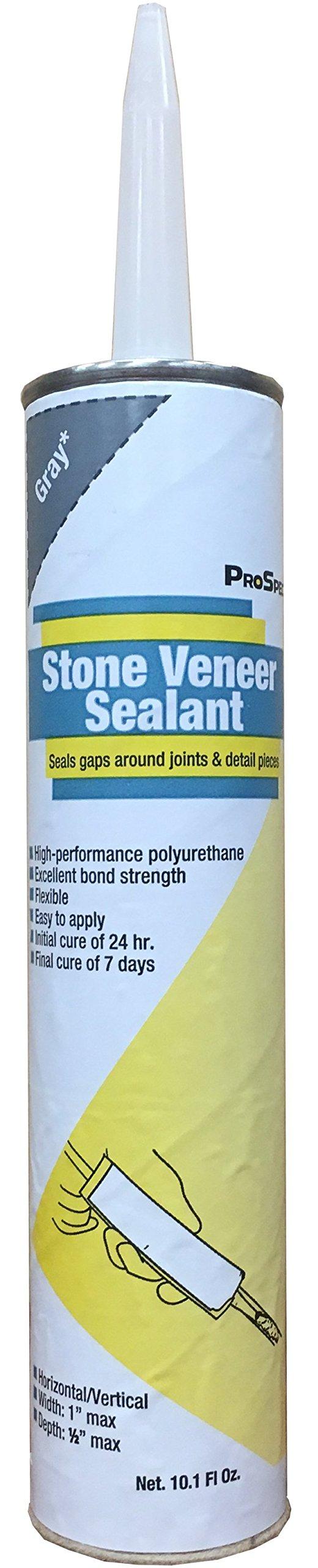 ProSpec Stone Veneer Sealant - Gray - 10.1 oz. (12 Pack) by ProSpec