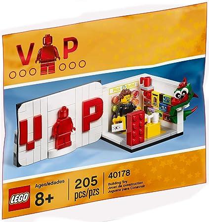 Amazon.com: LEGO Iconic VIP Set #40178: Toys & Games