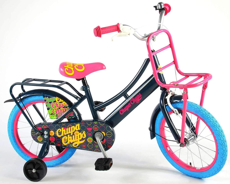 Chupa Chups Bicicleta Chica 16 Pulgadas Negro 95% Montado: Amazon ...