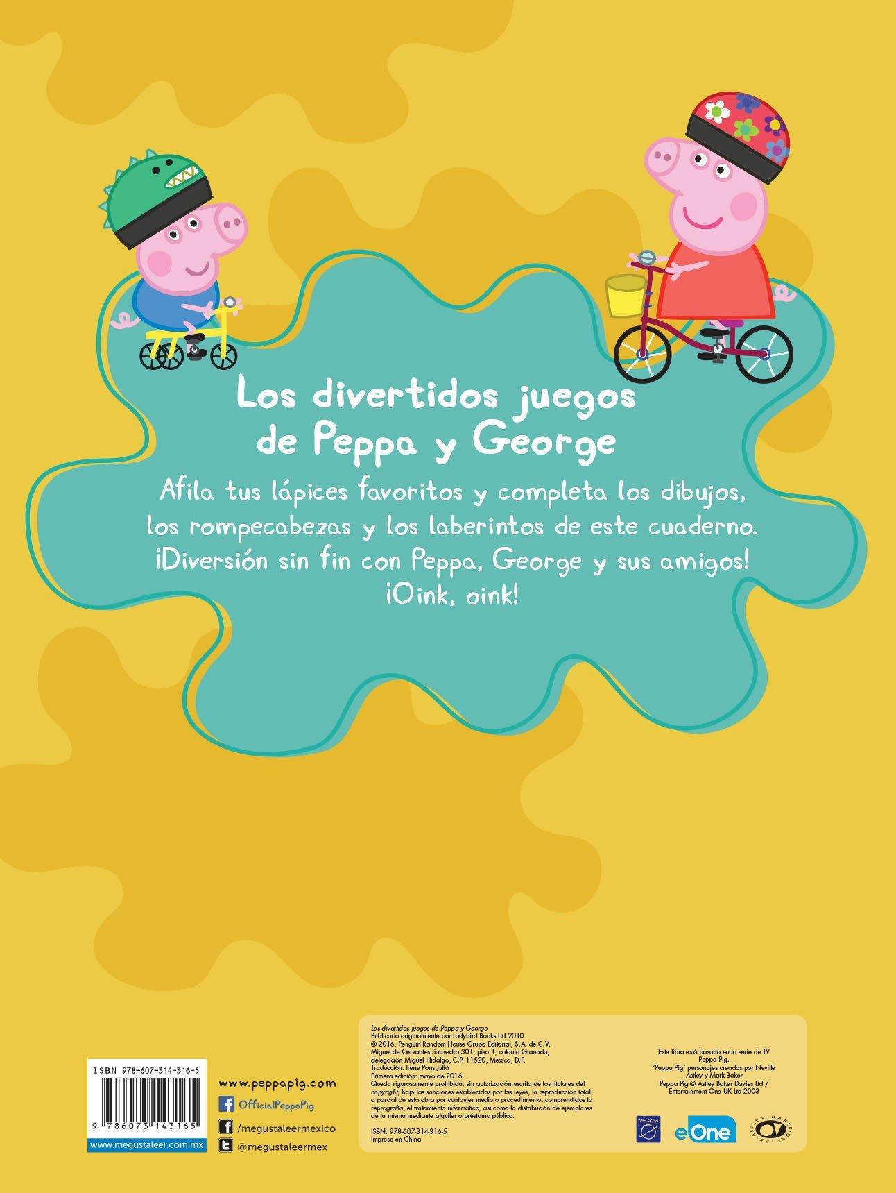 DIVERTIDOS JUEGOS DE PEPPA Y GEORGE LOS ENTERTAINMENT ONE UK