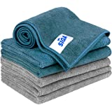 """MR.SIGA Microfiber Cleaning Cloth, Pack of 6, Size: 13.8"""" x 15.7"""""""