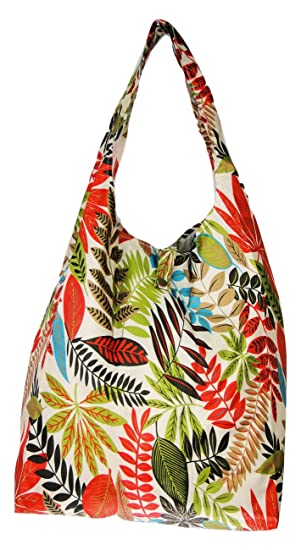 Beautiful Trendy Sturdy Shopping Tote Bag Tapp Collections Colour Birds Pattern