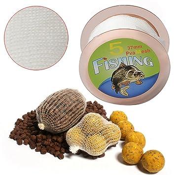 Amazon.com: gofypel anzuelo bolsa amplia PVA pesca de carpas ...