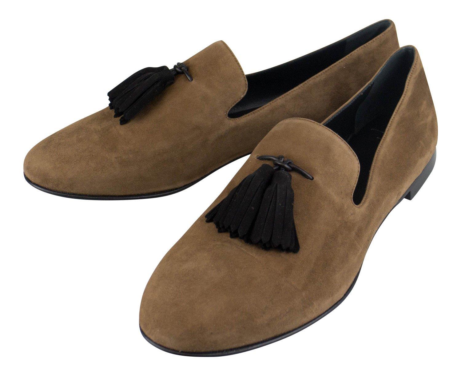 Giuseppe Zanotti Kevin CAMOSCIOスエードスリッパ靴サイズ7 US 40 EU   B0731R4N5S