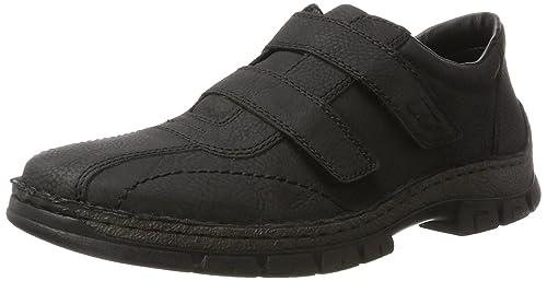 Mens 12251 Loafers, Black, 6.5 UK Rieker