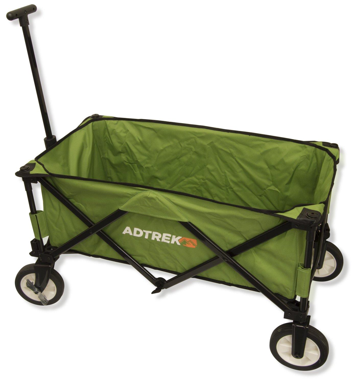 Adtrek - Transport-Handwagen – für Camping & Festivals – zusammenklappbar