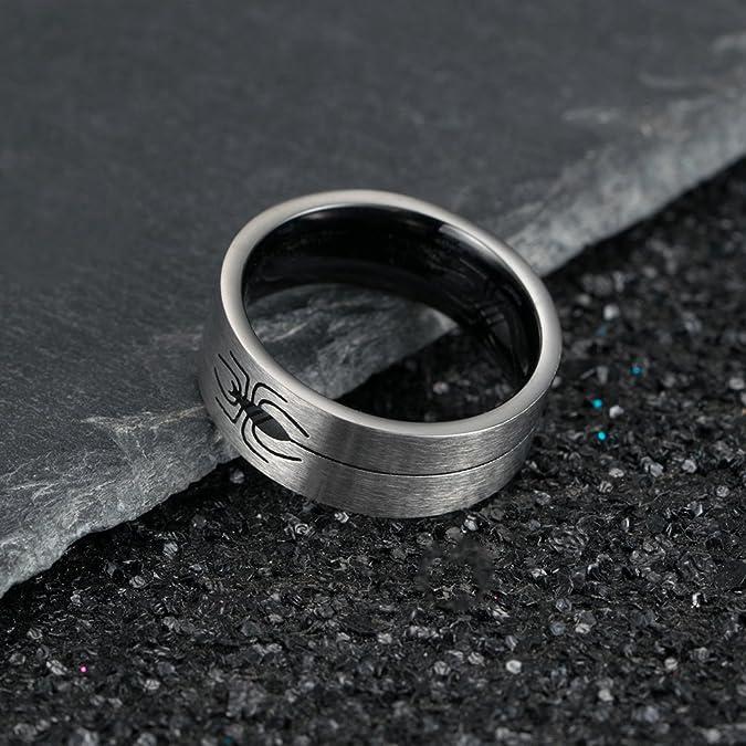 AP72 stainless steel 100 open rings 8 mm