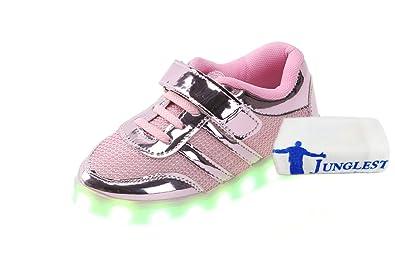 c2 EU 27,[+Kleines Handtuch] koreanischen Schuhe leuchtet weise und Babyschuhe Farben Licht Schuhe neuen USB-Lade sieben emittierende Leucht Frauen