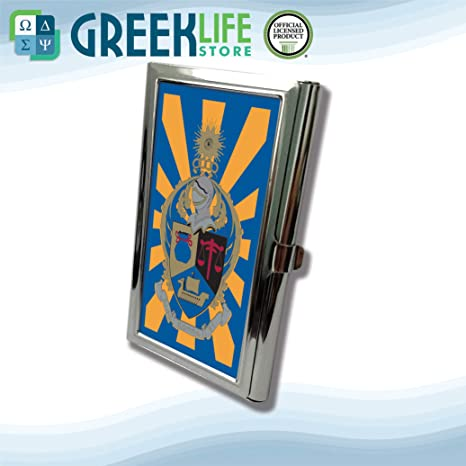 Amazon Alpha Kappa Psi Business Card Holder Stainless Steel