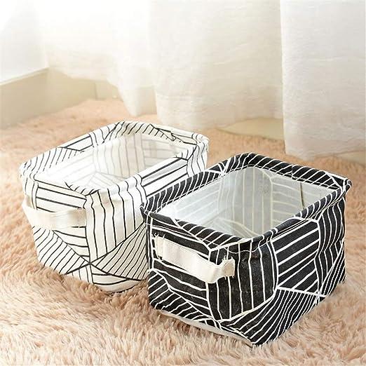 Lzcaure Cajas de Almacenaje 2 Piezas pequeña Caja del Organizador ...