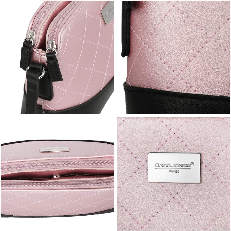 PETIT cuir véritable en Bandoulière Métallique couleur or rose brillant épaule
