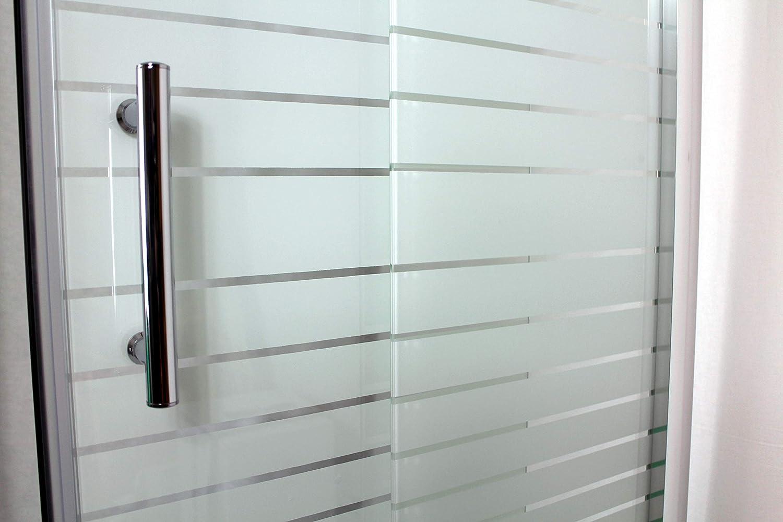 Mondodoccia Cabina Angolare Doccia Box Doccia 3 lati in Cristallo vetro temperato serigrafato mm.5 mod Katariina 70x90x70