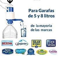 MovilCom - Dispensador Agua para garrafas | Dosificador Agua garrafas Compatible con garrafas de 5,