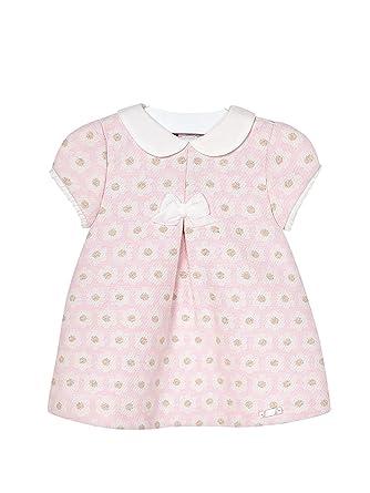 f73b3f29ce75 Mayoral - Jacquard Dress for Baby-Girls - 2840, Crystal: Amazon.co.uk:  Clothing