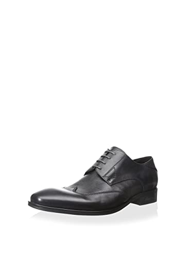 Kenneth Cole New York Men's Oil The Wheels Wingtip Oxford, Black, ...