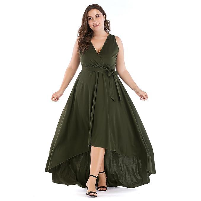 Toogoo Vestidos Largos De Mujer Vestidos De Cintura Imperio