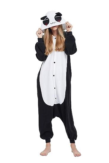 ac1930f851fd1 Fandecie Costume Animal Costume Animal Pyjamas Pyjamas Combinaison Kigurumi  Panda Femme Homme Cosplay Adulte pour Carnaval