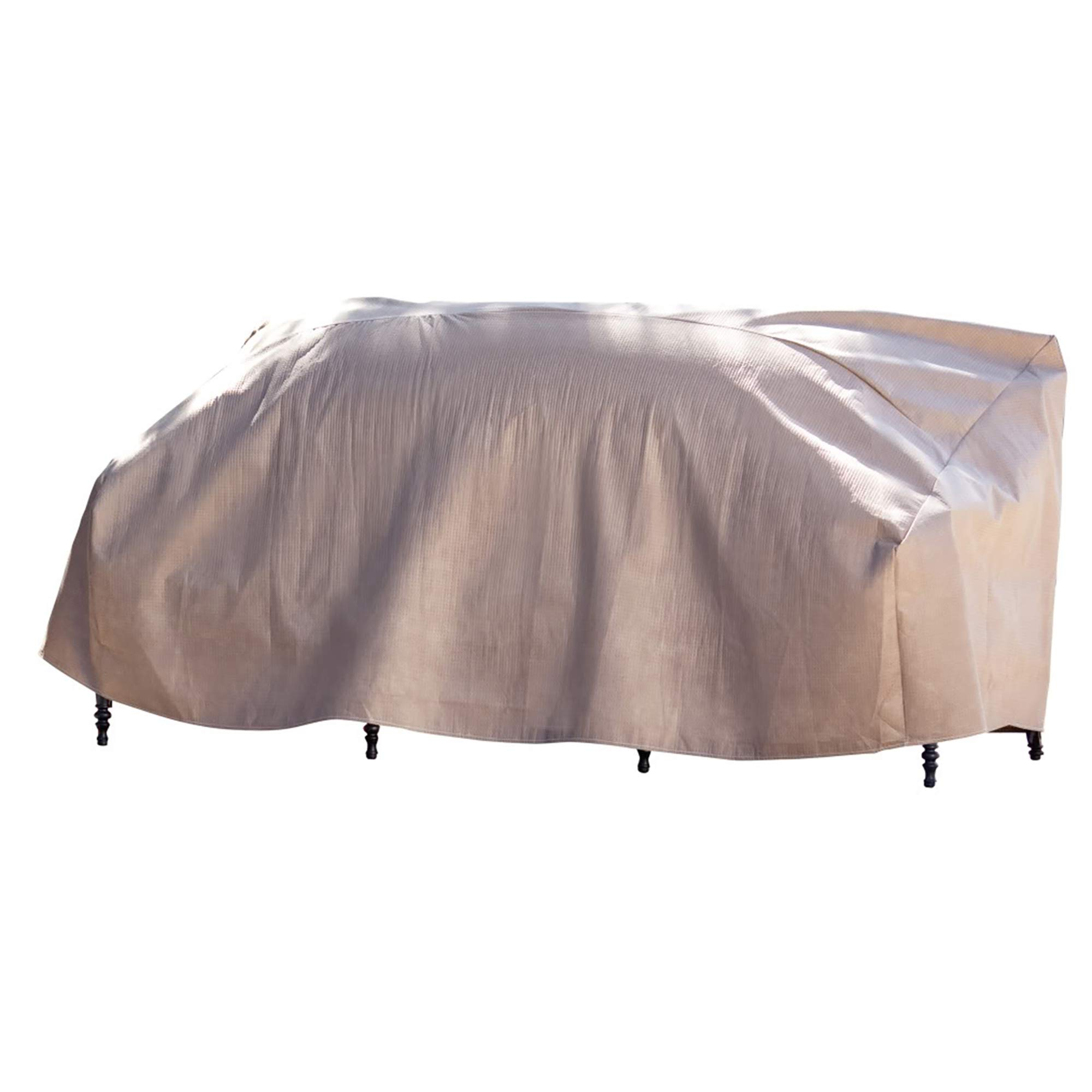 Duck Covers Elite Patio Sofa Cover with Inflatable Airbag to Prevent Pooling, 79-Inch