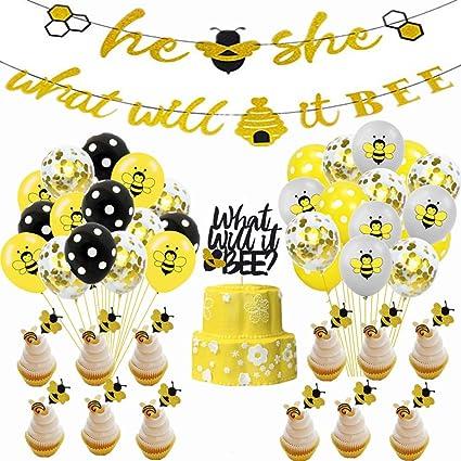 Amazon.com: Bumble Bee Juego de decoraciones para fiestas ...