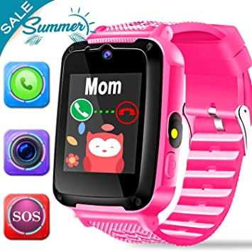 Kid Smart Watch Phone SOS Tracker for Boy Girl Game Sport Watch ...