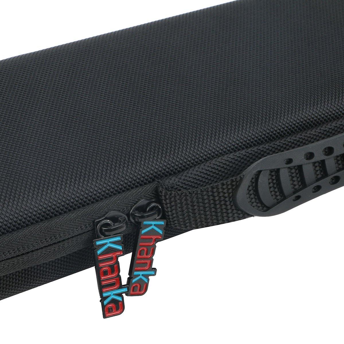 Khanka Hard Case for Akai Professional LPK25 | 25-Key Ultra-Portable USB MIDI Keyboard Controller by Khanka