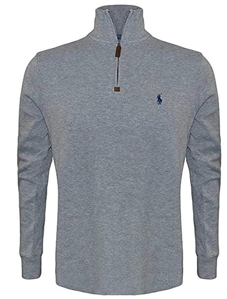 cheaper 0d70b dffc3 Polo Ralph Lauren Men's Big and Tall Estate Rib Half-Zip Pullover sweatshirt