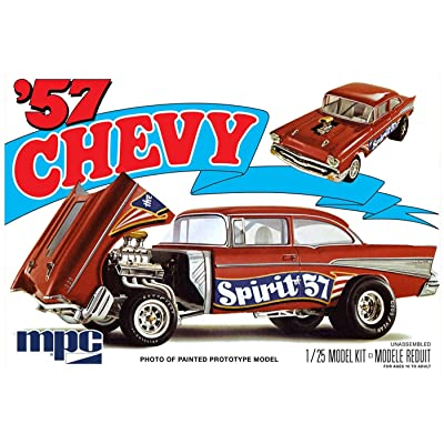 "MPC '57 Chevy Flipnose Spirit of 57"" Model Car Kit: Toys & Games"