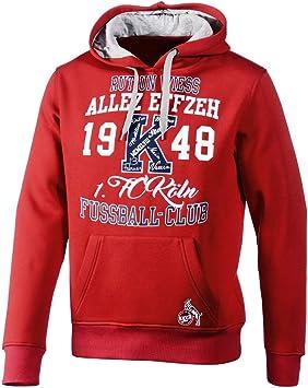 1. FC Köln Hoodie schwarz, Damen Gr. S