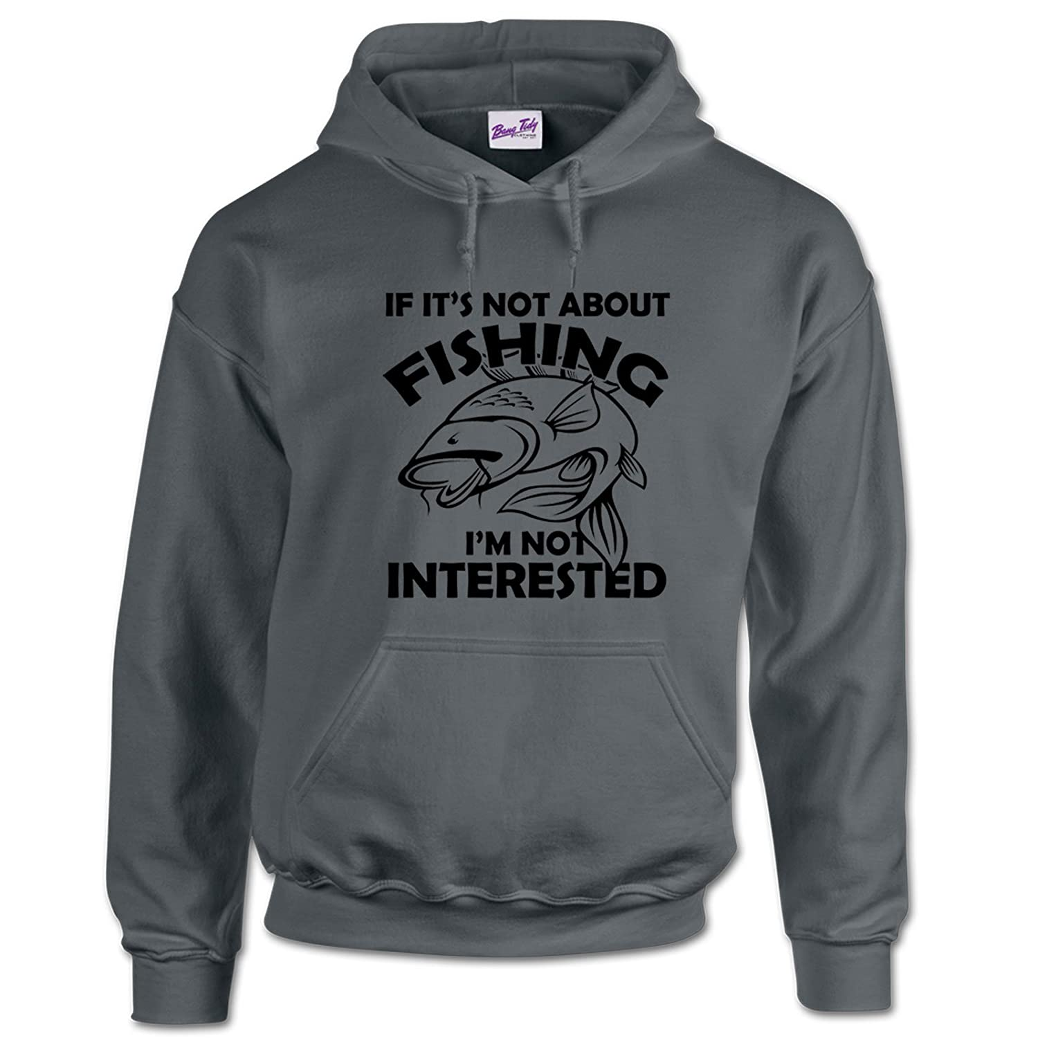 No I Haven/'t Caught Anything Mens Funny Fishing Hoodie Carp Coarse Gift Dad