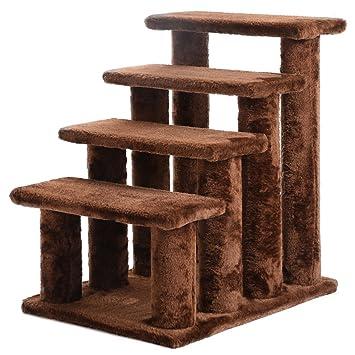 21u0027u0027 Pet Ramp Cat 4 Pet Steps Stairway Perch Scratcher Stairs Small Dog