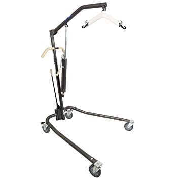 ProBasics Patient Lift - Hydraulic Patient Body Lift For In Home Use -  Heavy Duty, Lifts Up to 450 lbs
