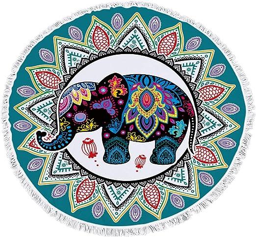 Sticker Superb Bohemia Elefante Estilo de Dibujos Animados Toalla ...