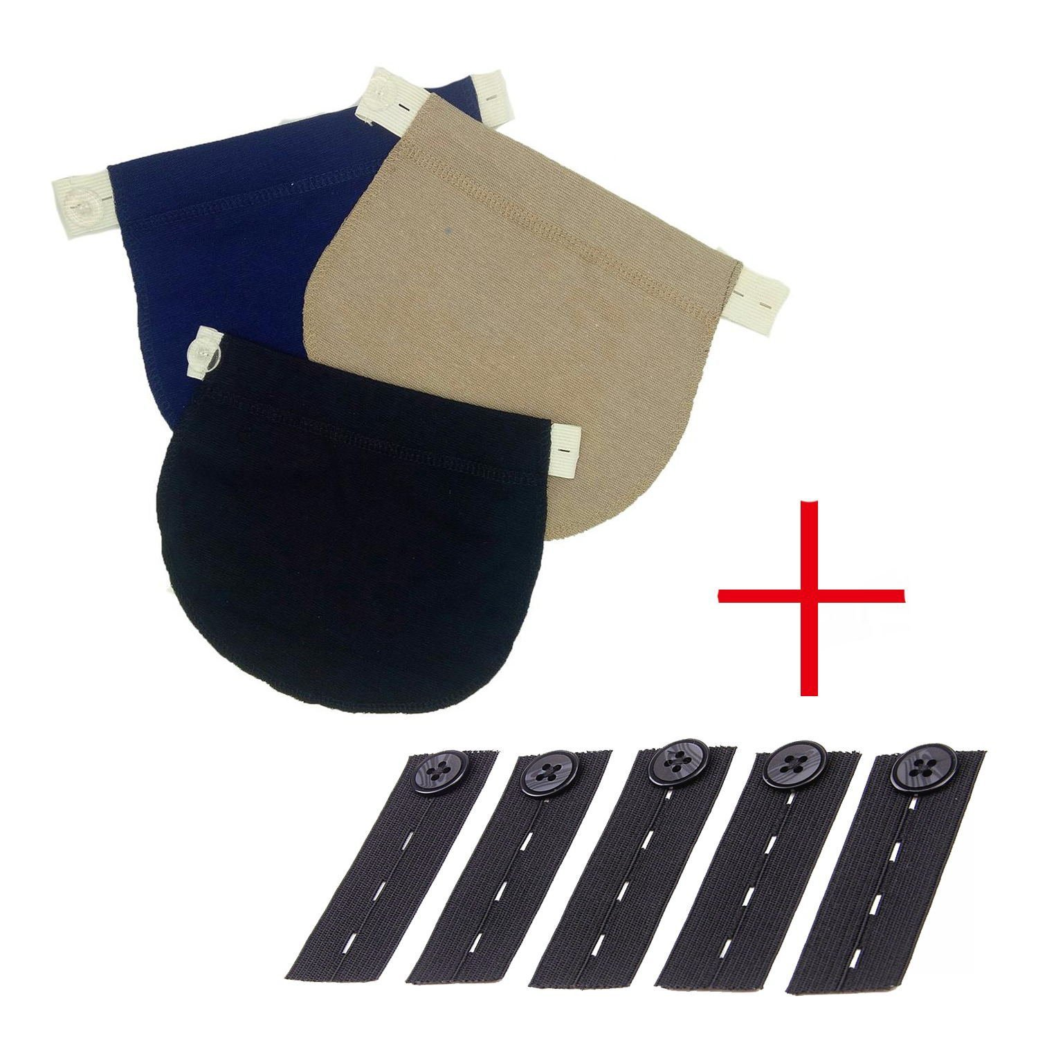 Maternity Belly Band | Pregnancy Belt, Waistband Extender Mothers Maternity Wear The Best Gift for a Pregnant Woman