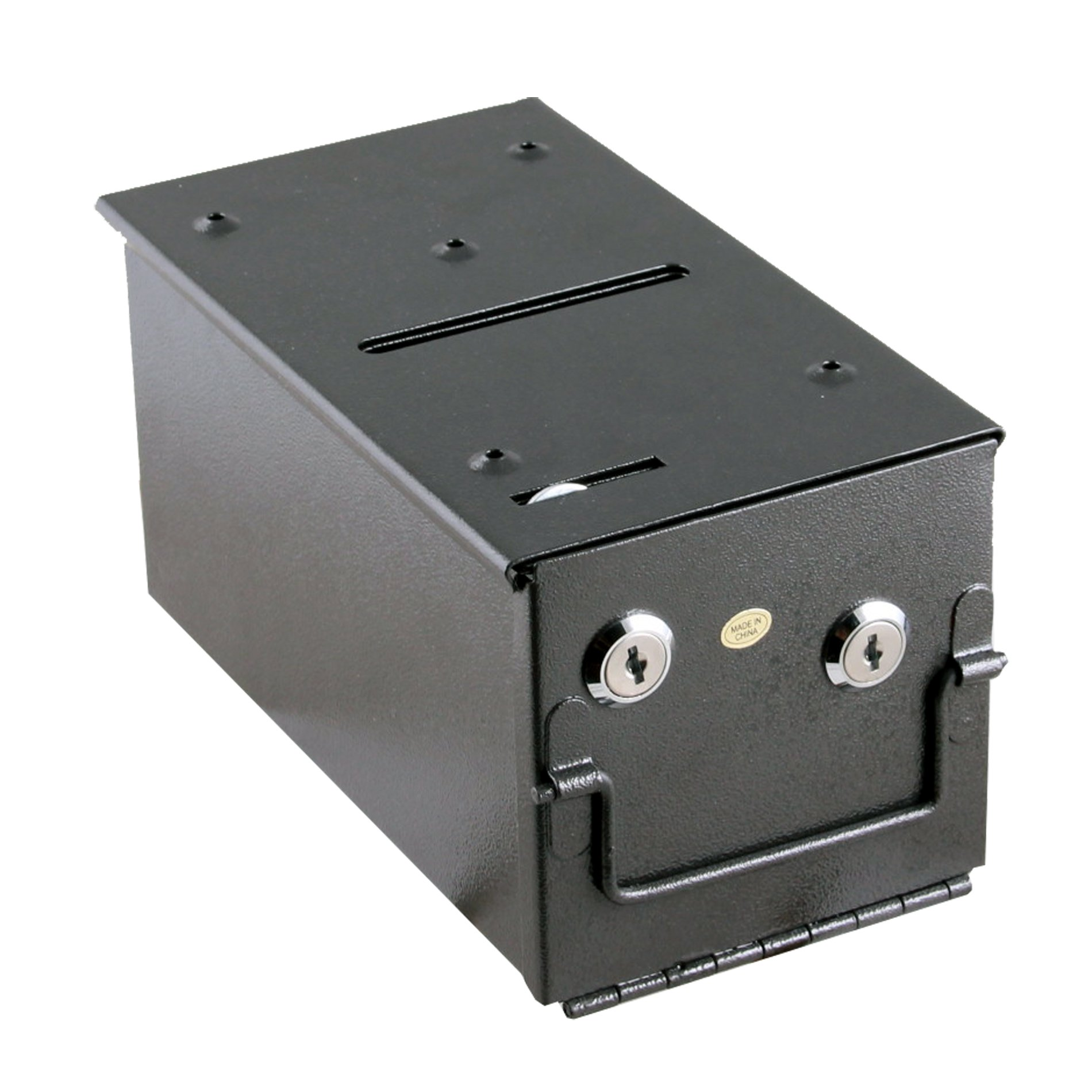 IDS Steel Rake Toke Drop Box with Bill Slot For Poker Table