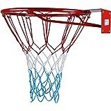 Kimet Panier de basketball de qualité avec anneau et filet Qualité et sécurité testées