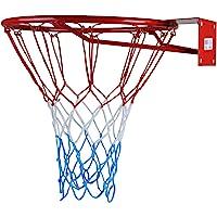 KIMET HangRing Canestro da basket con anello e rete, qualità e sicurezza testate, dimensioni: Ø 45cm e 37cm (a scelta)