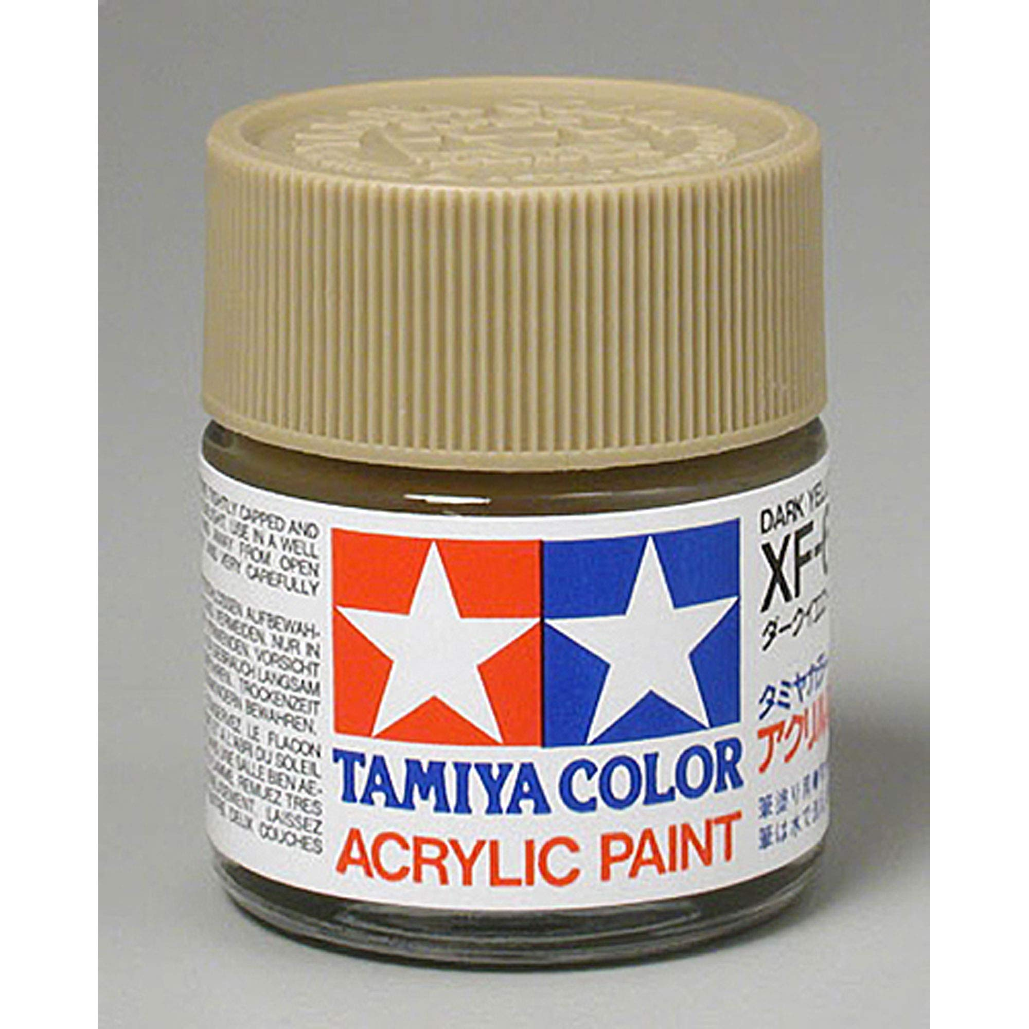 TAMIYA USA TAM81360 Acrylic XF60 Flat Dark Yellow