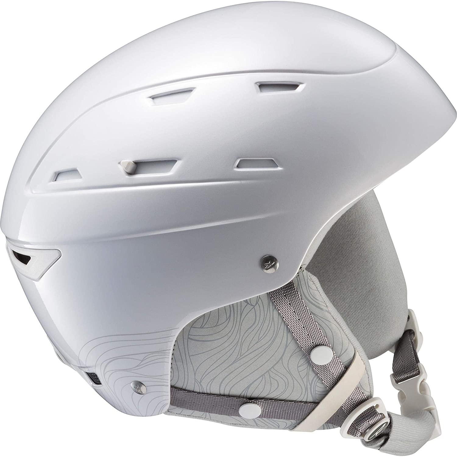 Rossignol Reply Impacts W Skihelm für Damen, Damen, RKHH404, Weiß (White/Coral)