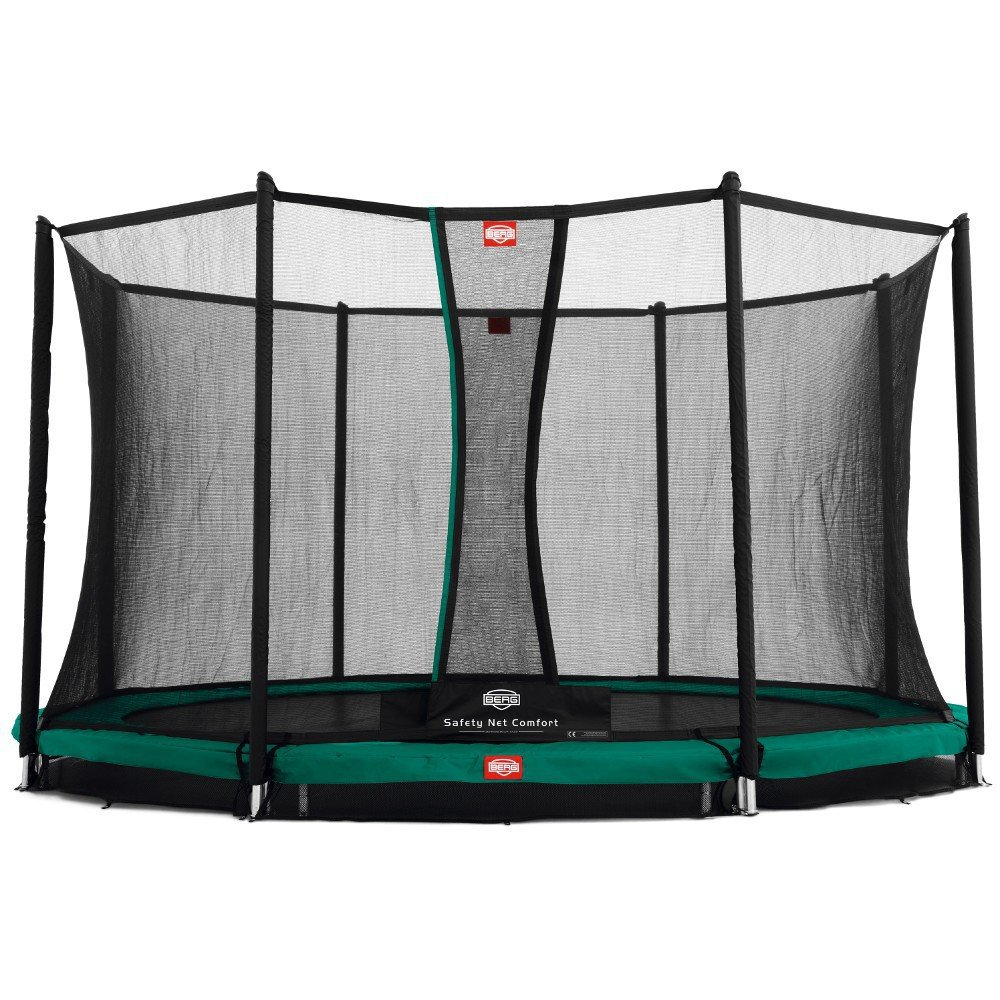 Berg 35.42.06.00 Trampolin Comfort 380 Inground Champion mit Sicherheitsnetz