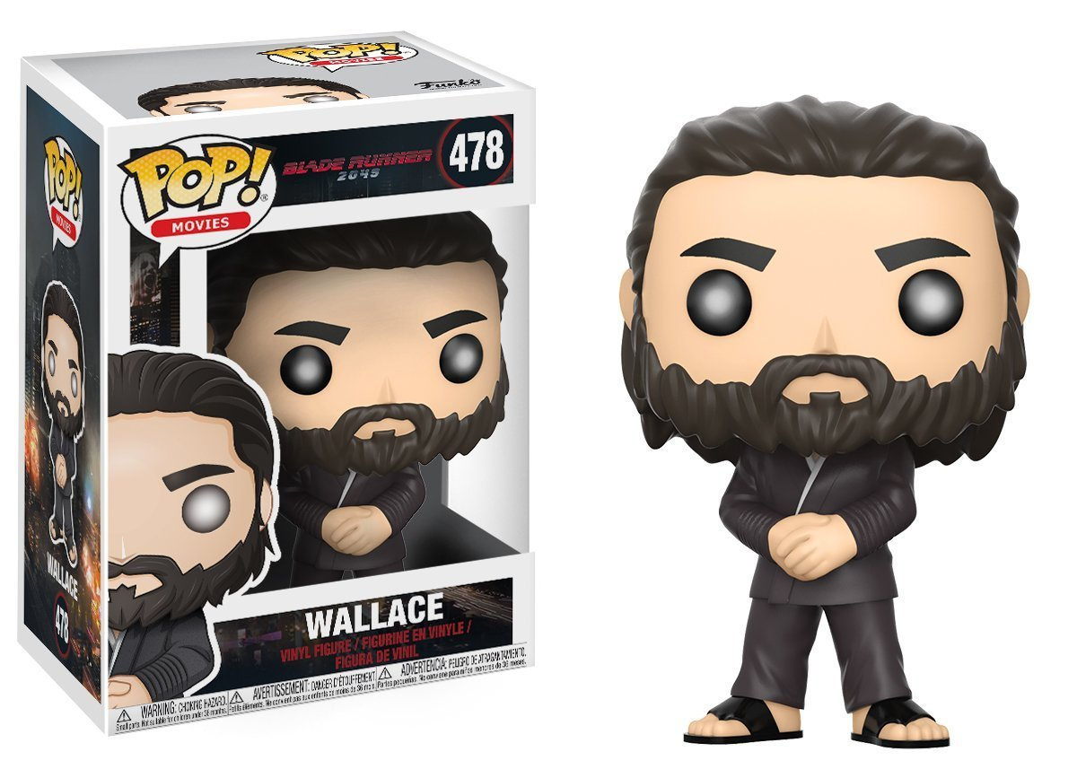 Movies /& Wallace #478 Luv #479 Bobble Vinyl Character Collectible AYB Products Officer K 476 Pop Blade Runner 2049 Figure Collection Funko Series Deckard 477