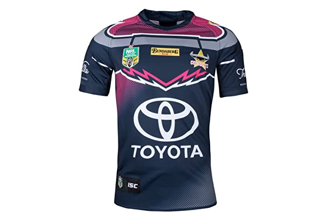 33e5d303d North Queensland Cowboys NRL 2018 Women in League S S Rugby Shirt - Navy