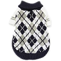 Barlingrock Dog Clothes for Small Dog, Pet Clothes Dog Sweater Dog Vest, Puppy Dog Clothes Costumes Puppy Cat Knit Coat Winter Warm Sweater Apparel