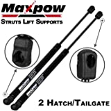 Maxpow 2PCS Trunk Hatch Gas Lift Supports Struts For 1999-2006 Volkswagen Golf