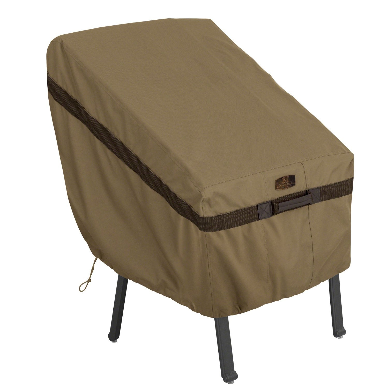 Classic Accessories Hickory Heavy Duty Standard Patio Chair Cover - Durable and Water Resistant Patio Set Cover (55-208-012401-EC)