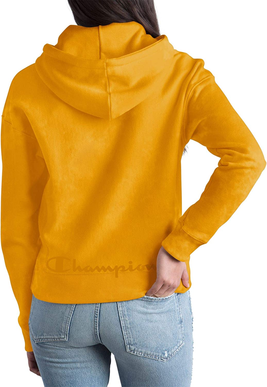 Champion Damen Scrunch Dye Reverse Weave Pullover Hood Kapuzenpulli Tonal Black Scrunch Dye